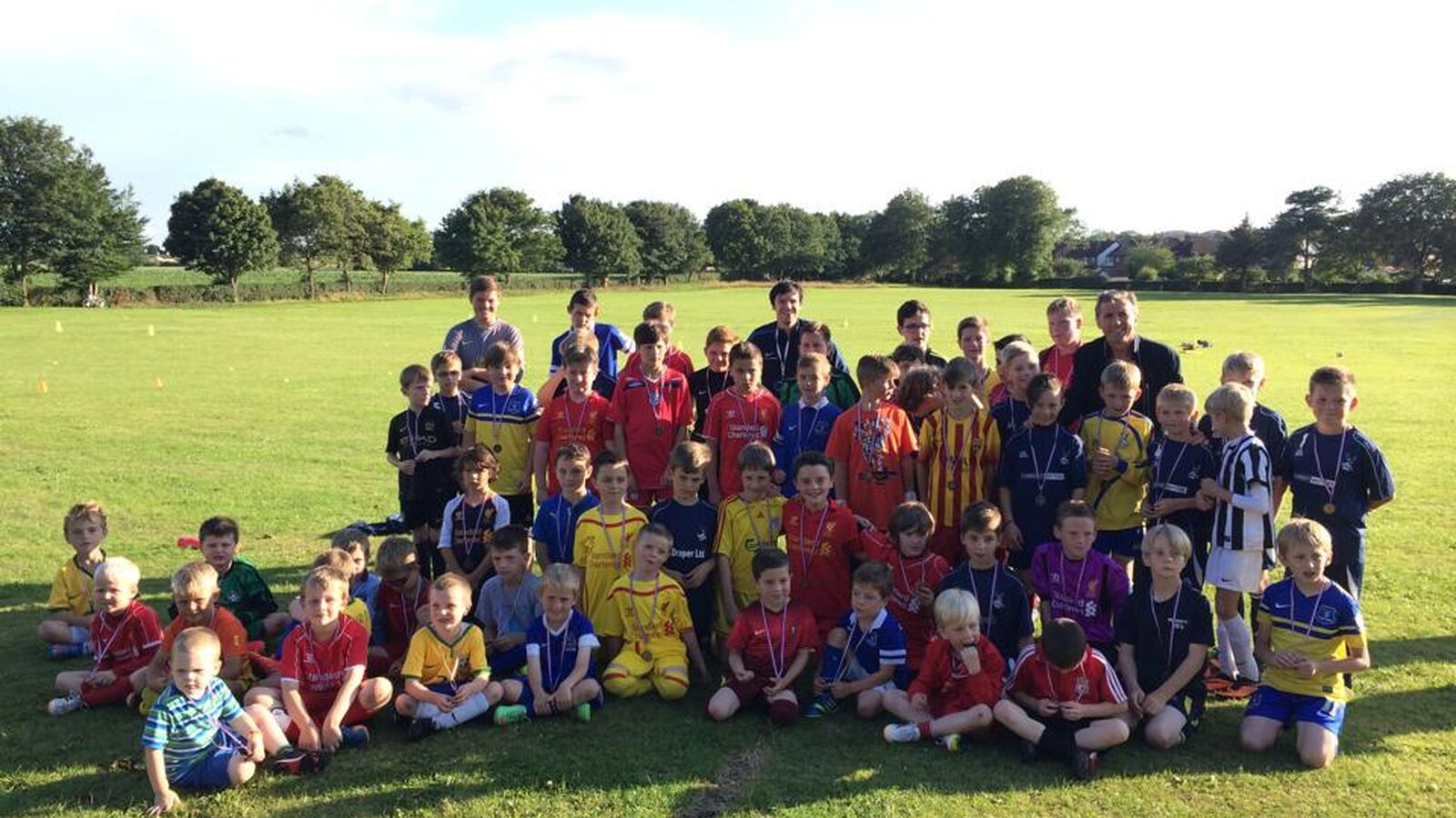 Ormskirk FC Summer Sessions 2015