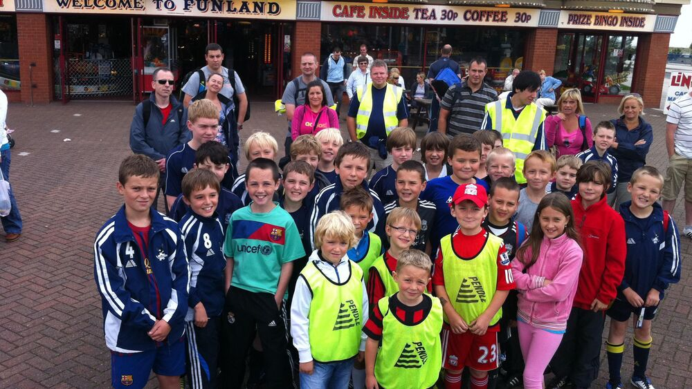 Ormskirk FC Sponsored Walk 2012