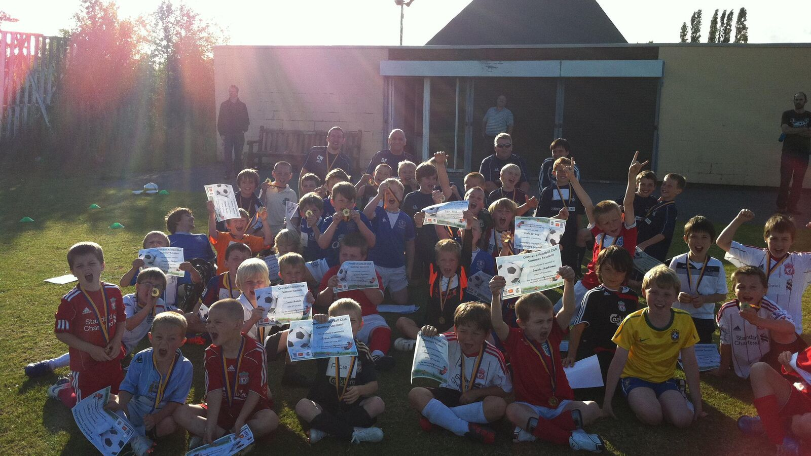Ormskirk FC Summer Sessions a Success