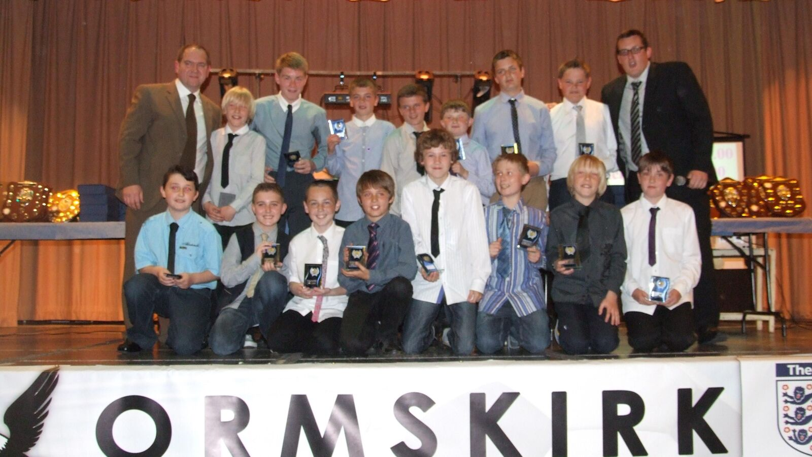 Ormskirk FC Presentation Evening 2011/2012