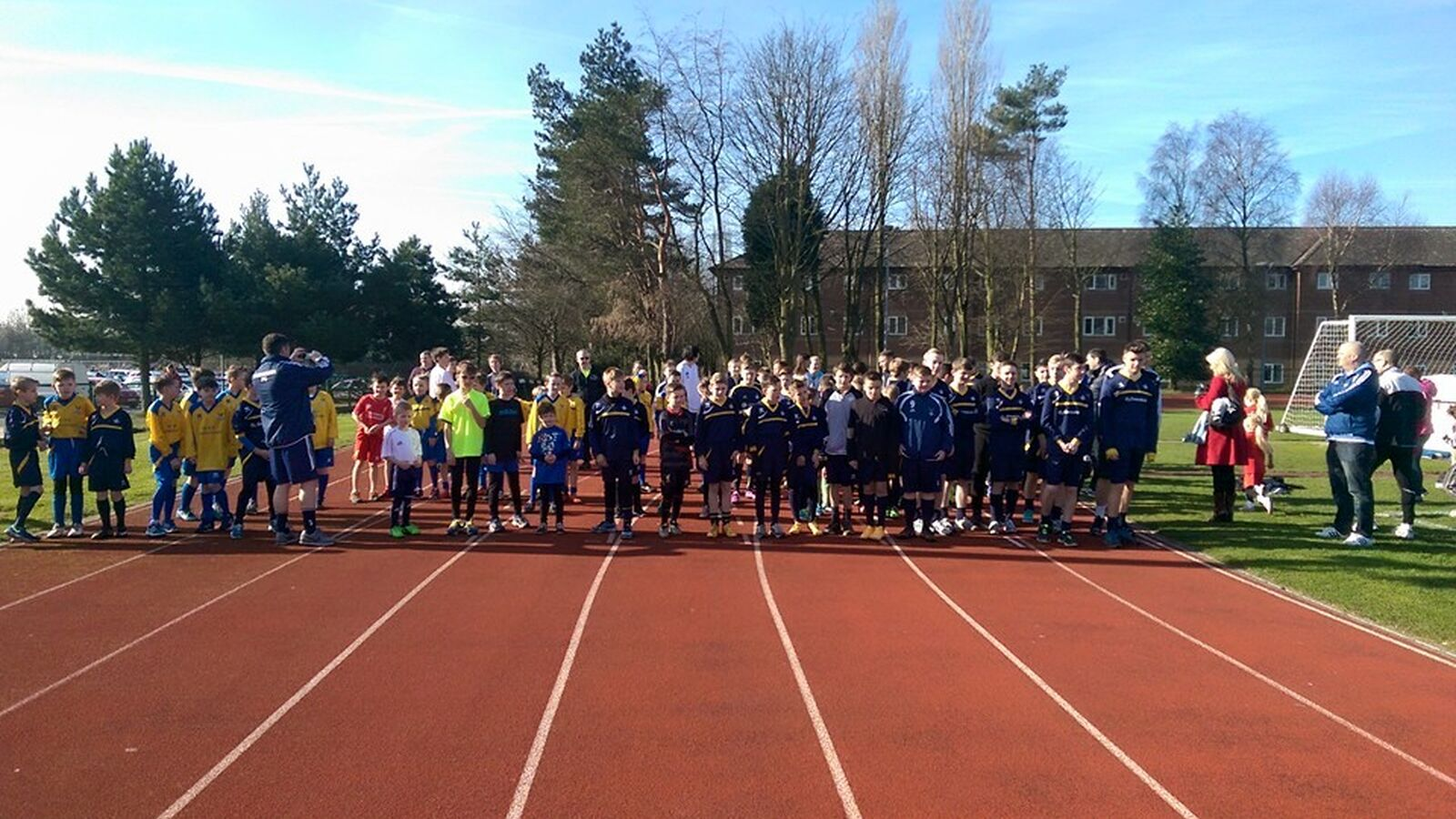 Ormskirk FC Takes Part in Jacob's Leg It Charity Fun Run