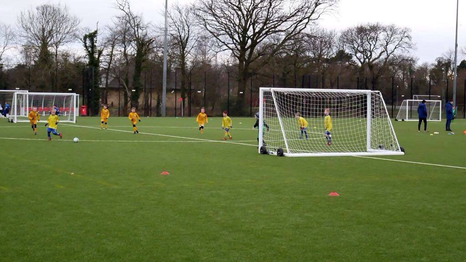 Ormskirk FC U7s Play against Preston North End at their Academy
