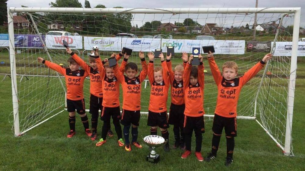 Ormskirk FC Under 6s win the Rainford Rangers Tournament