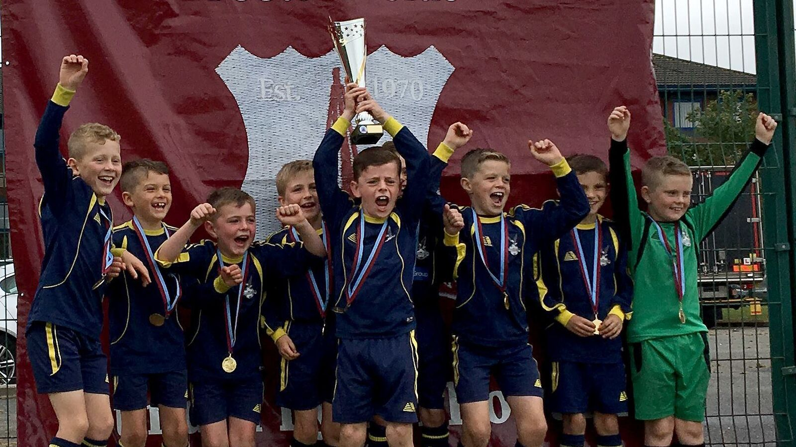 Under 8s win the Ormskirk West End Tournament