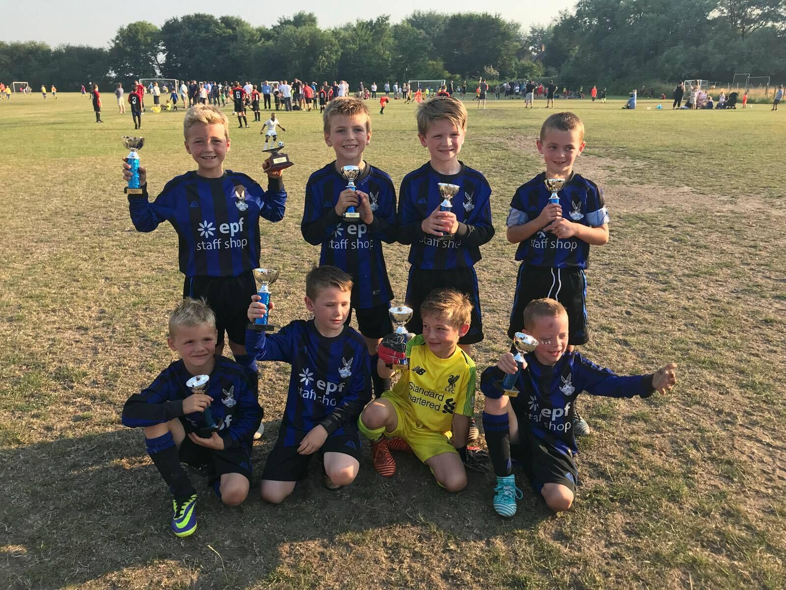 Ormskirk FC U7s Win the Hightown JFL Cup