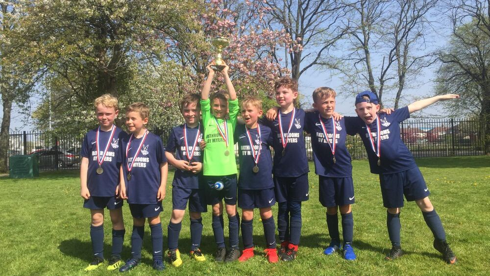 Under 8s Win the MCSS Easter Cup