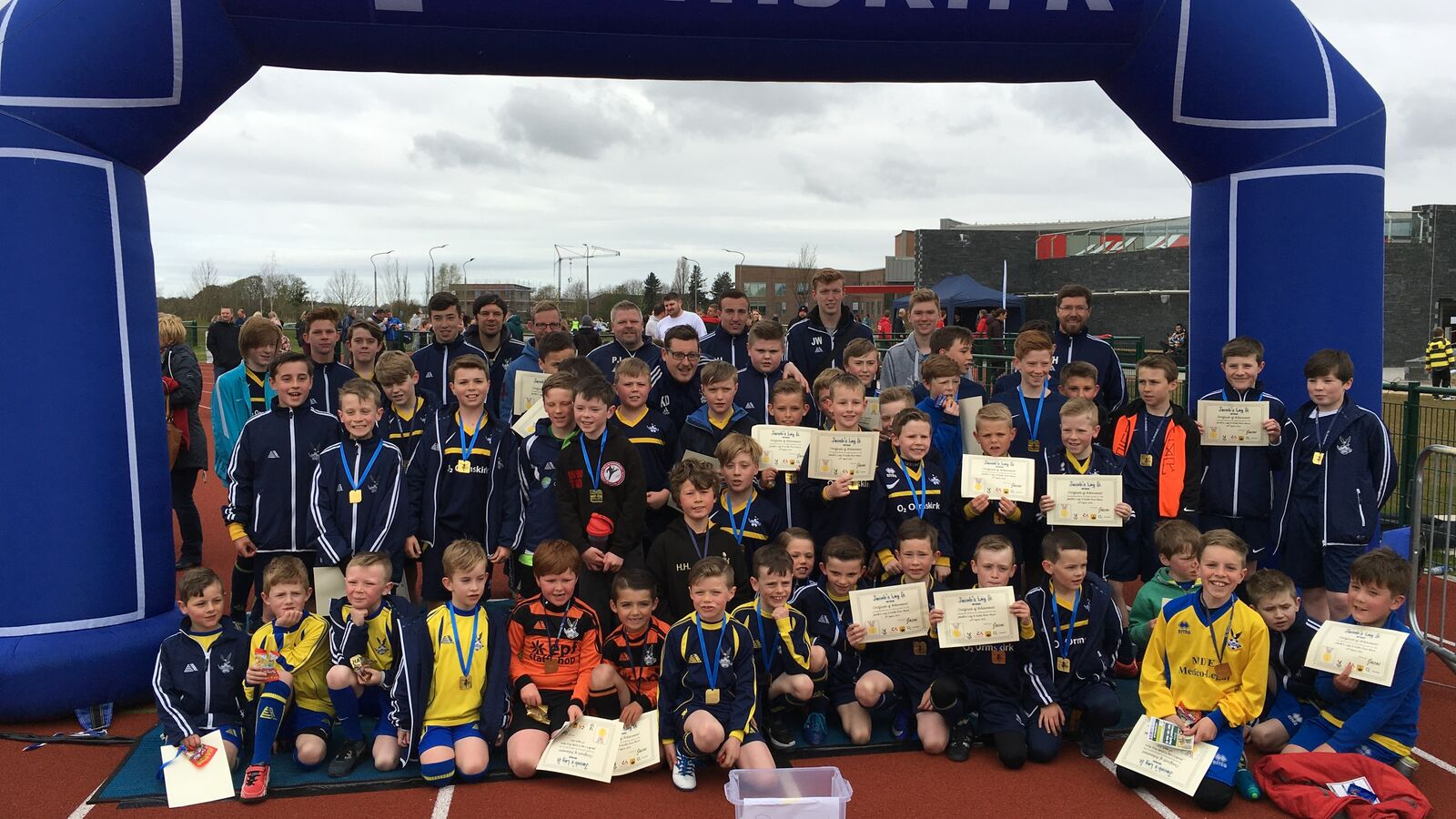 Ormskirk FC Takes Part in Charity Fun Run for Autism