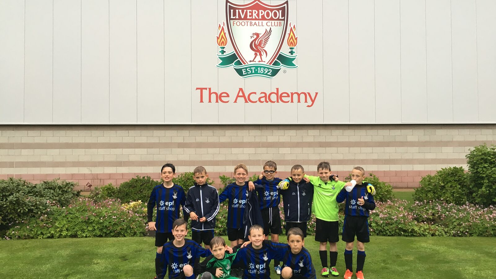 Ormskirk FC U9s Play against Liverpool FC at the LFC Academy