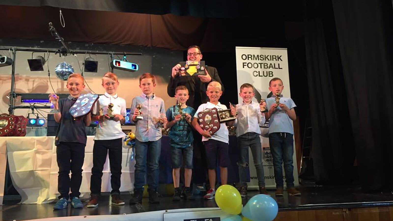 End of Season Awards Presentation 2015/16