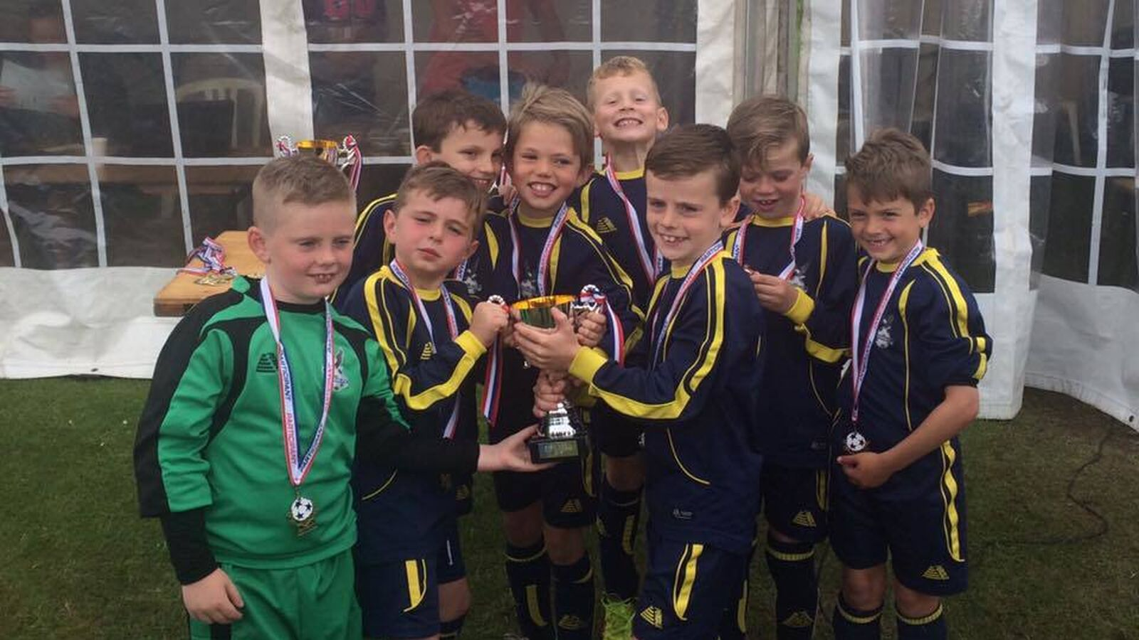 Under 7s win the Skem North Tournament