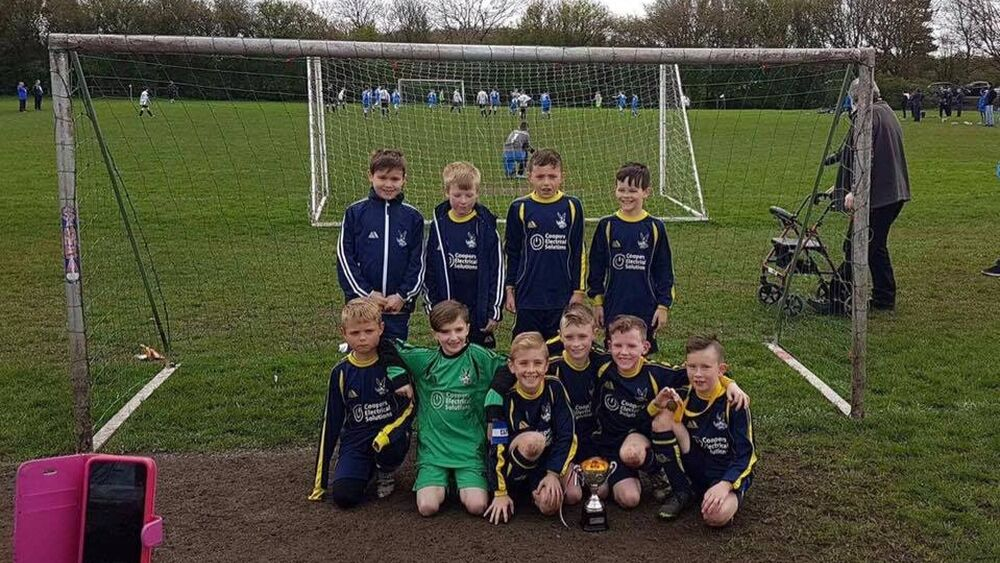 Ormskirk FC Under 9s win the Skem JFL Cup!