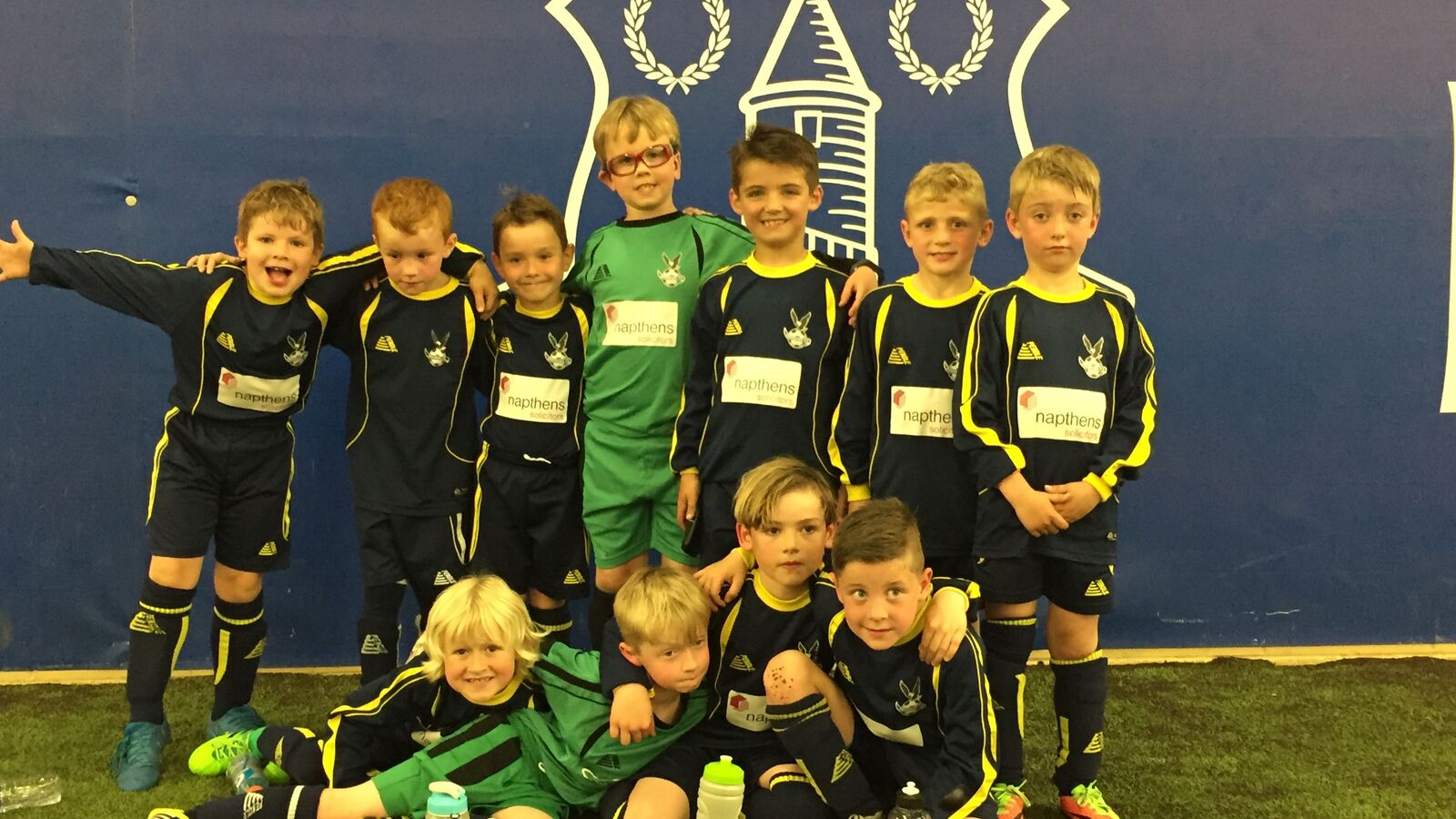 Ormskirk FC U7s play against Everton FC at Finch Farm