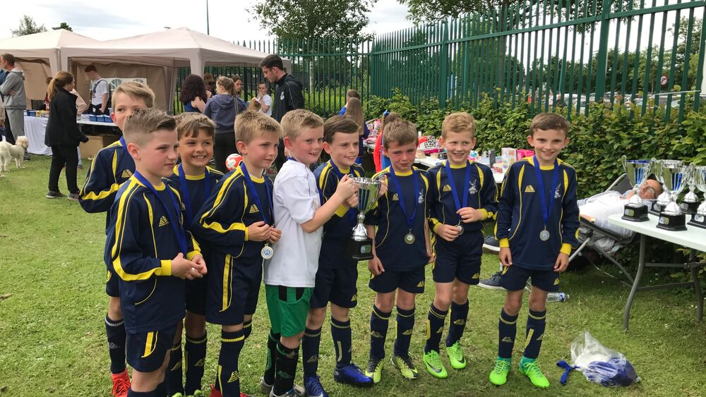 Ormskirk FC U8s Win the Slow Down for Bobby Tournament
